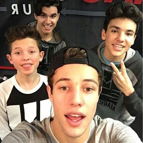 Daniel skye is an awesome singer Cameron Dallas is just... Mine Jacob sartorius has awesome musical.ly