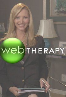 Web Therapy is an improvised online (and later, television) series starring Lisa Kudrow as Fiona Wallice. Fiona conducts 3 minute therapy sessions over the internet. Very funny show.