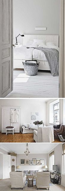 Greige: Blog of the Week by decor8, via Flickr I love this, just needs a small accent colour