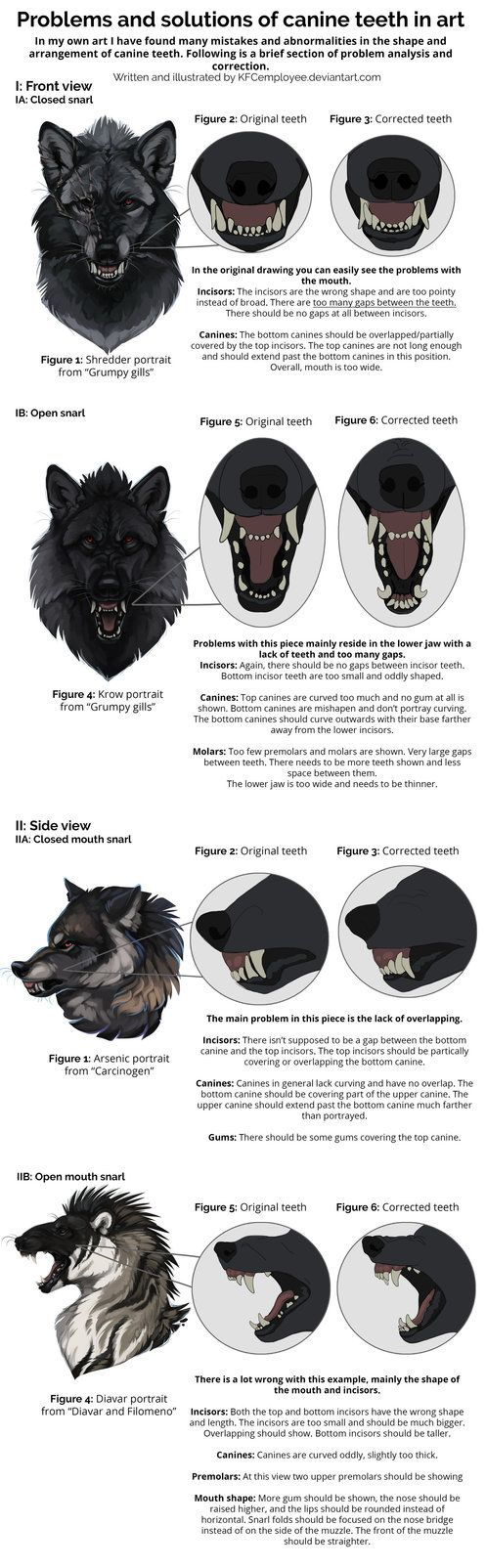 This one was even more fun to make! After studying teeth yesterday I decided to use what I'd just learned to correct some of my own work and see if the product was any better. I think it's helped a...