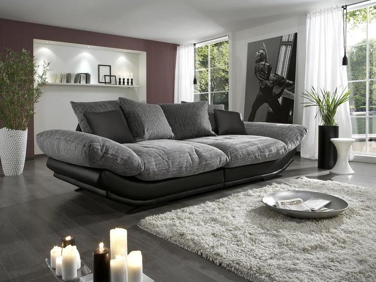 ber ideen zu megasofa auf pinterest salons. Black Bedroom Furniture Sets. Home Design Ideas