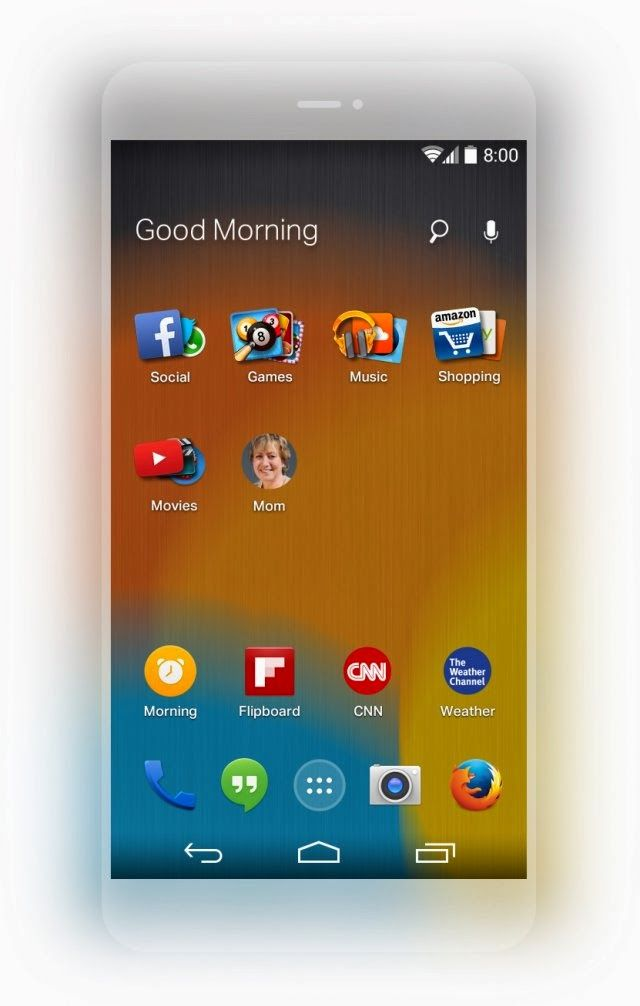 H Mozilla αναμένεται να κυκλοφορήσει μέσα στις επόμενες εβδομάδες τον δικό της launcher για συσκευές Android, και το συνέδριο InContext, που διεξήχθη πριν λίγες μέρες στο San Francisco ήταν μια καλή ευκαιρία για να μας δώσει μια ιδέα για το project της, μέσα από ένα screenshot.