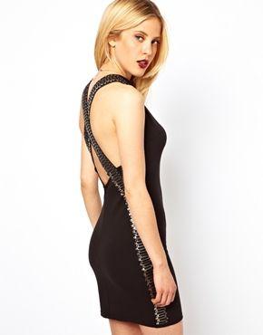 ASOS Мини платье со скрещенными шлейками | SweetList.ru