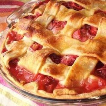 Rhubarb and Strawberry Pie: Desserts, Tasty Recipe, Dessert Tomorrow, Tomorrow Night, Strawberries, Savory Recipes, Strawberry Rhubarb, Feet, Strawberry Pie