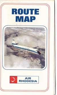 Air Rhodesia Route Map
