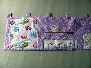 Úžitkový textil - Sovičkový vreckár - 3902283_