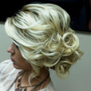 curly bunHair Ideas, Up Dos, Bridesmaid Hair, Wedding Updo, Prom Hair, Messy Buns, Hair Style, Wedding Hairstyles, Side Buns