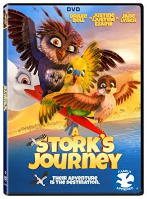 Shelly's Bits and Pieces: A Stork's Journey Review #ad
