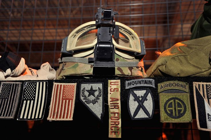 An Air Force Special Operations Command TACP JTAC graphic while on