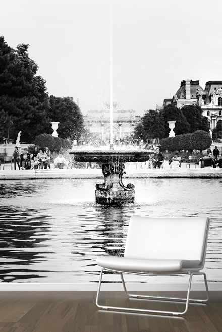 """Fountain"" Stunning wallpaper by Scandiwall from the Paris collection 2014 Photographer : Stefan Petersén"