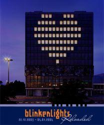 Blinkenlights. 2001. Haus des Lehrers, Berlin, Germany