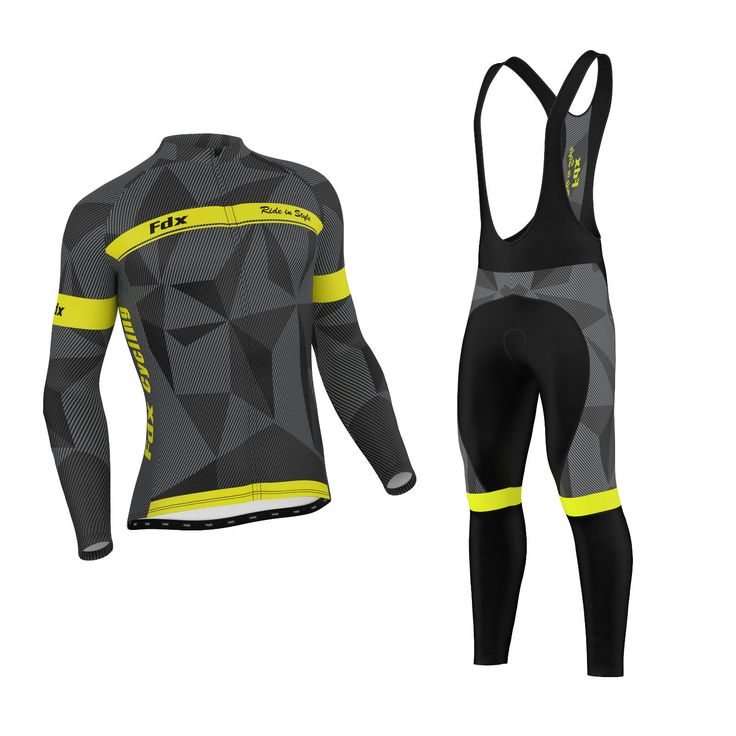Fdx mens classic #cycling #jersey winter thermal bike top + #cycling bib #tights s,  View more on the LINK: 	http://www.zeppy.io/product/gb/2/172349197458/