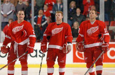 Darren McCarty, Kris Draper & Kirk Maltby (The Grind Line)
