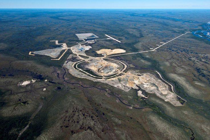 Victor mine in Canada.