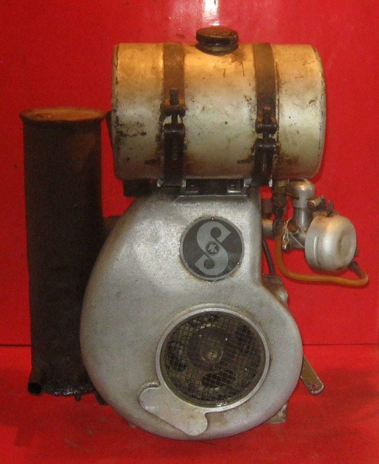 Stationärmotor Standmotor Fichtel Sachs Stamo Vergaser