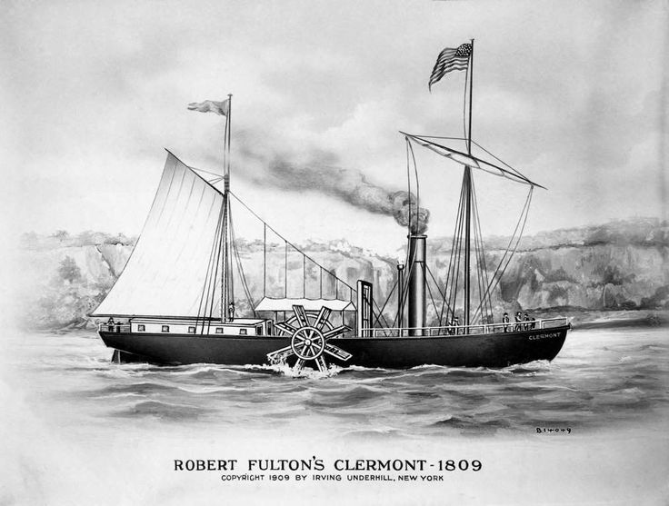 robert fulton steamboat biography of barack