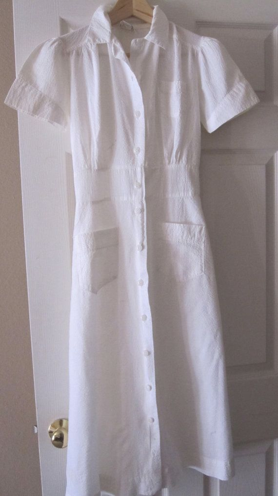 Vintage Nurses Uniform by Folkaltered on Etsy, $10.00