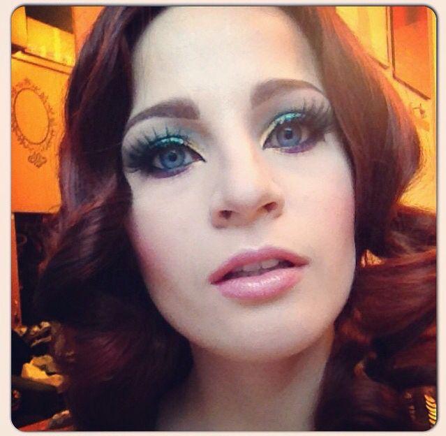 Irina's makeup #mrslashes