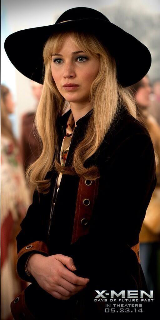 Still of Jennifer Lawrence as Raven Darkhölme in X-Men: Days of Future Past