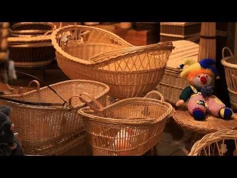Coopérative de Vannerie - vidéo complète française - YouTube - nice overview of willow basketry