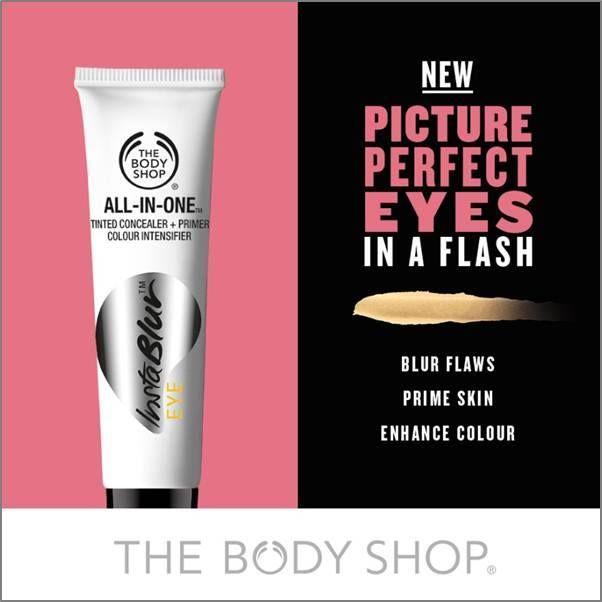 Wil je oneffenheden wegwerken, de huid rondom je ogen egaliseren en oogschaduwkleuren nog sprekender laten uitkomen? Ontdek de primer InstaBlur ™Eye (€ 15) voor je ogen! #instablureye  http://www.thebodyshop.nl/make-up/ogen/all-in-one-instablur-eye.aspx