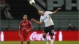 TOYOTA, JAPAN - DECEMBER 12: Danilo (R) of Corinthians heads the ball with Walid Soliman (L) of Al-Ahly SC during the FIFA Club World Cup Semi Final match between Al-Ahly SC and Corinthians at Toyota Stadium on December 12, 2012 in Toyota, Japan. (Photo by Lintao Zhang/Getty Images)