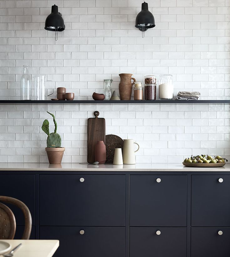 Kök i härligaste mörkblått