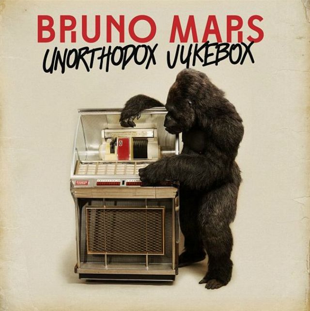 Bruno Mars Album Cover for Unorthodox  Jukebox - via Mashable.