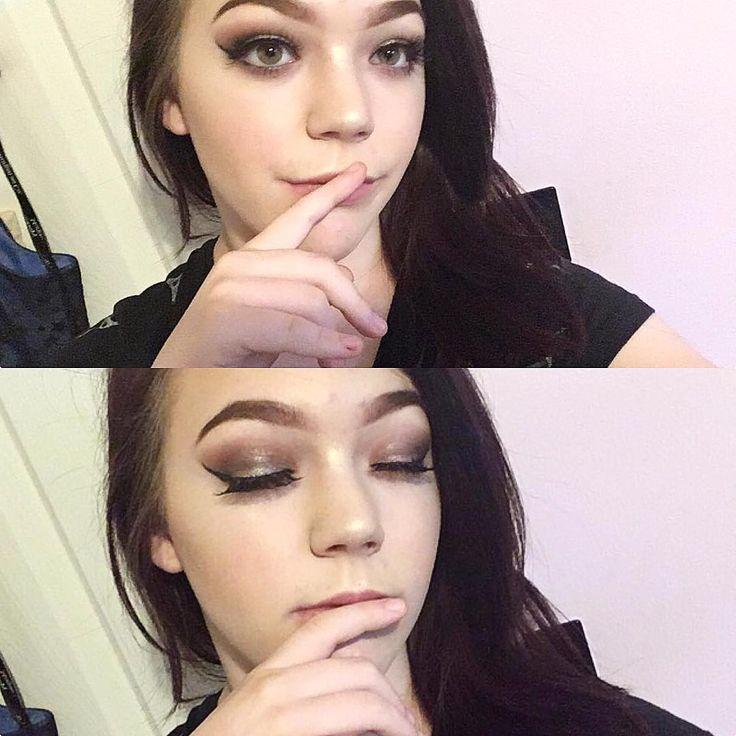 Simple look today ��  #makeup #makeuplooks #lashes #eyeliner #shadow #eyemakeup #lips #lipsick #nudelips #contour #benefit #highlighter #hoola #liner #eyeshadow #eylure #nyx #toofaced http://ameritrustshield.com/ipost/1545873154050919384/?code=BV0C3F3BIvY