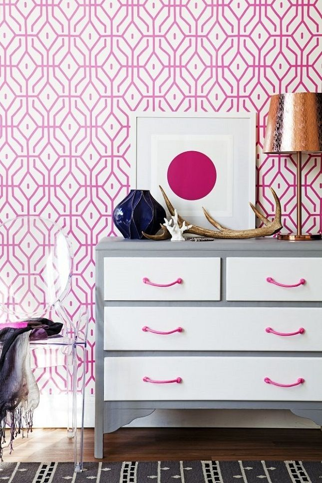 Images On  Ways to Decorate With Hot Pink at Home