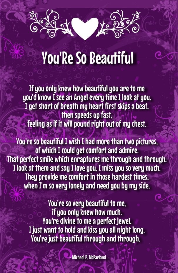 your beautiful poems for her