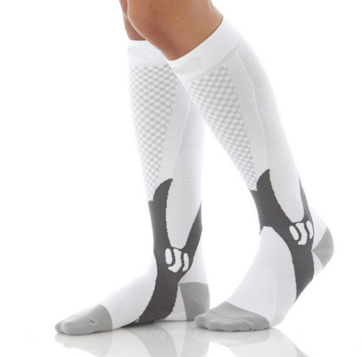 Graduated Compression Socks Firm Pressure Circulation Quality Knee High Orthopedic Support Hose Sock