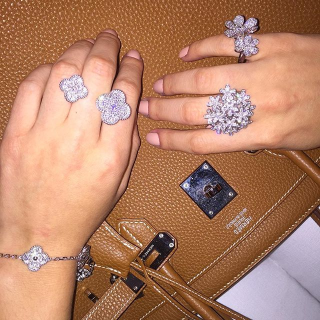 558 Best Van Cleef Amp Arpels Vintage Alhambra Ring Images