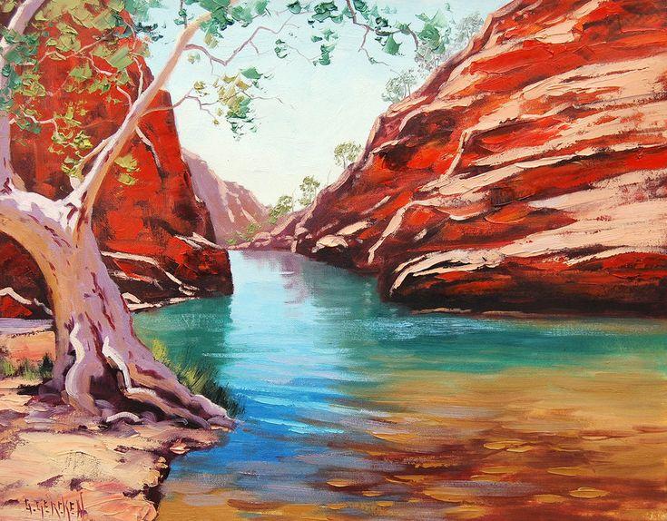 Outback Australia by artsaus.deviantart.com