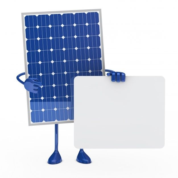 Download Solar Panel Posing With A Placard For Text For Free Solar Panels Solar Solar Power System