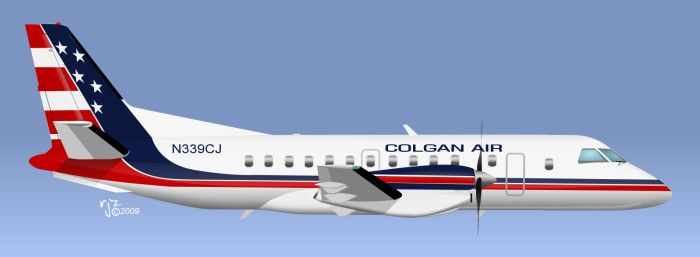 SAAB S-340 Cityliner - Colgan Air