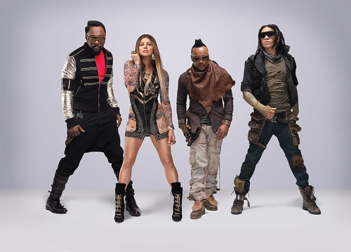 """Black Eyed Peas — A promo picture from their upcoming 6th (4th with Fergie) studio album """"The Beginning""""."""