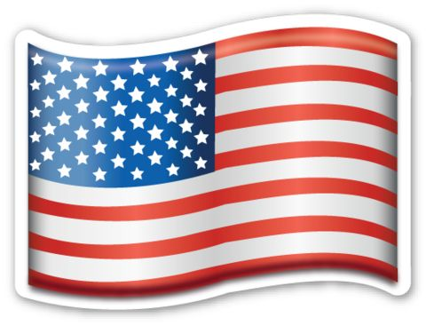 Flag of USA | Flags, Emojis and Emoji stickers
