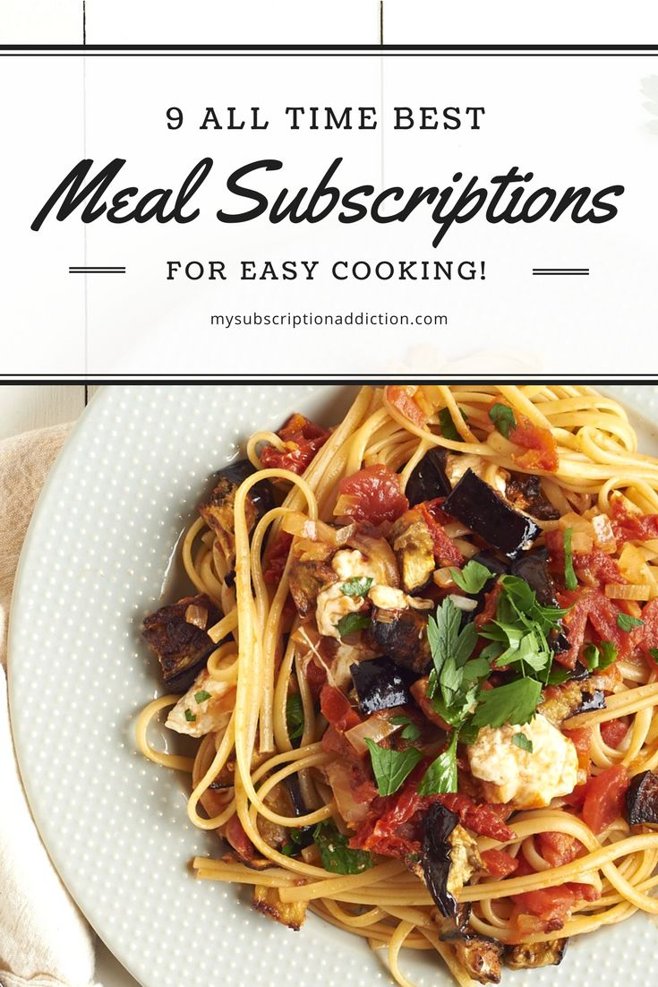 Looking for the best meal subscription boxes and meal delivery kits? We've reviewed all of the meal subscriptions and have narrowed down the list for you!