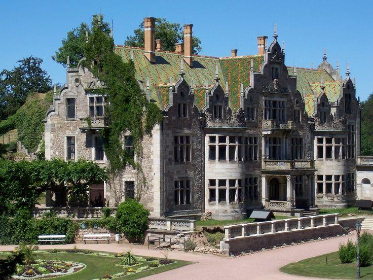Schloss Altenstein, Bad Liebenstein, Wartburgkreis, Thüringen, Germany