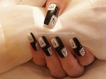 Дизайн ногтей фон крестом с узором. Урок 41 - фото 1