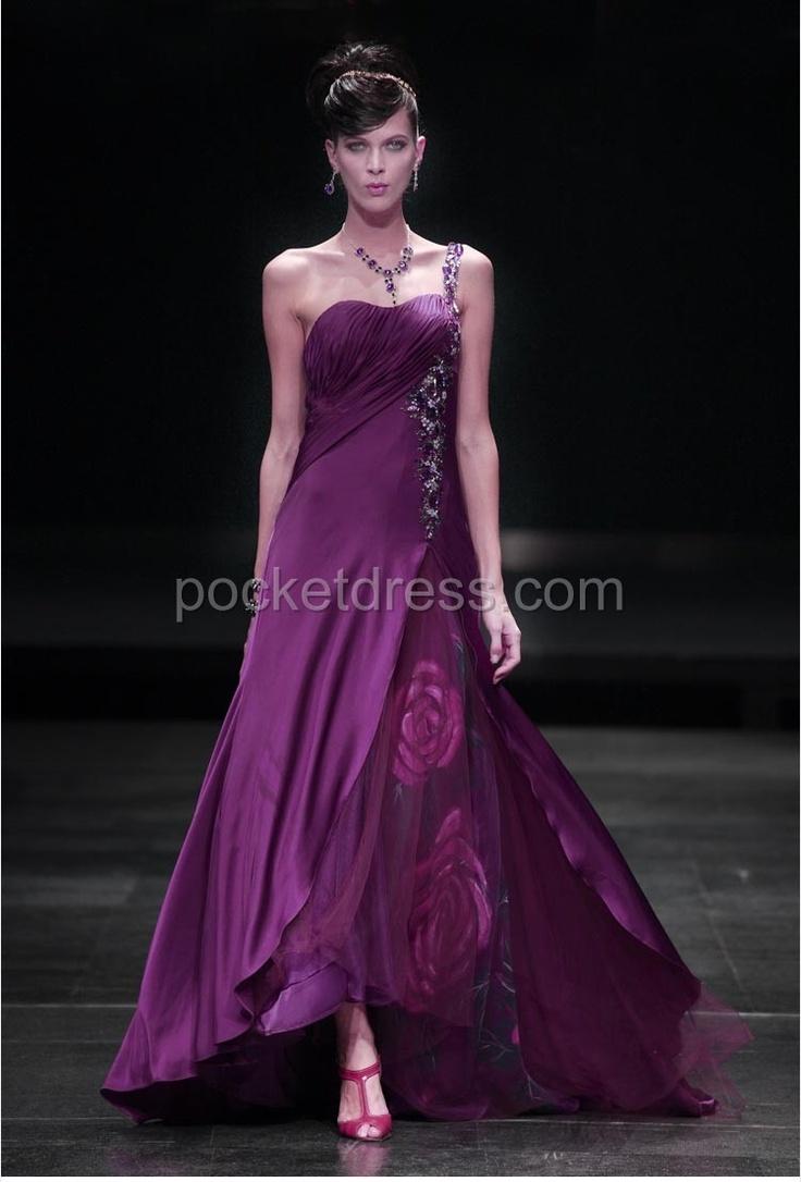 27 best One shoulder prom dresses images on Pinterest | Party wear ...