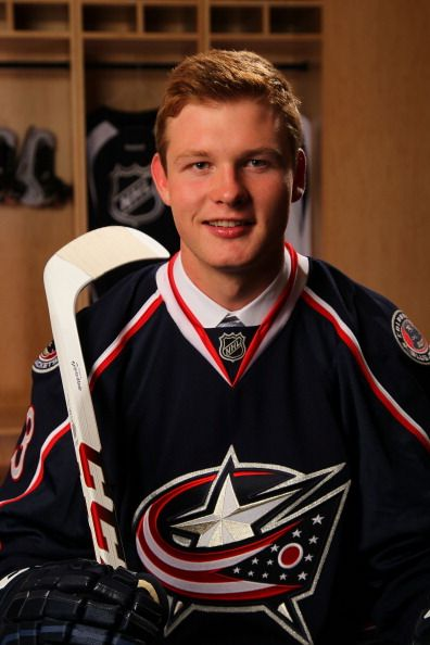 Nick Moutrey - No. 105 pick by #CBJ in the 2013 NHL Draft