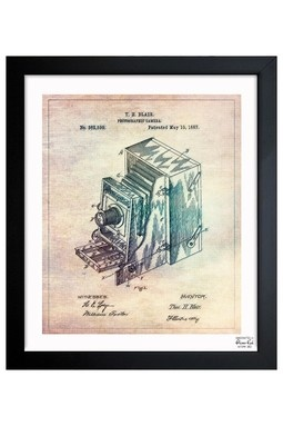 Blair Camera 1887 Framed Art Print