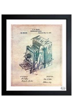 Blair Camera 1887 Framed Art Print