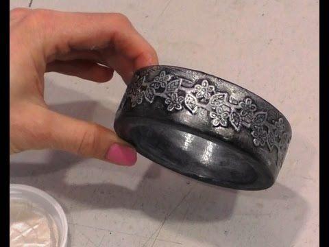 Декупаж мастер-класс №8 как сделать браслет ручной работы подарок женщин...