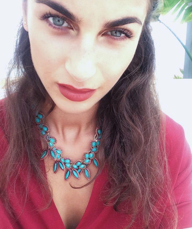 red lips, model, fashion, beauty, model