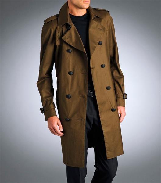 Осенние пальто и плащи для мужчин