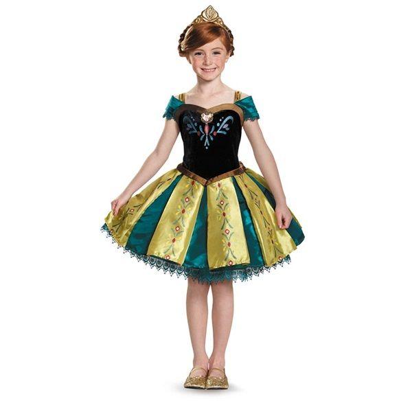Prestige Anna Coronation Kids Tutu Costume - Kids Costumes