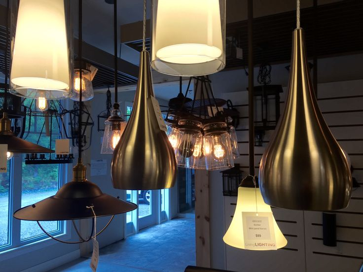 Livinglighting showrom at northern living kitchen bath in parrysound ontario
